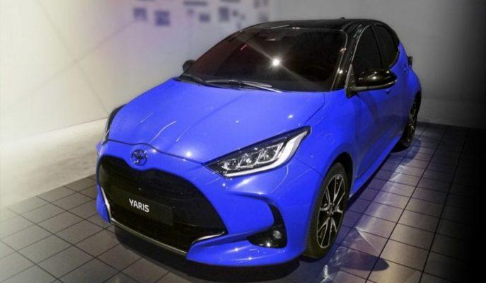 2020 Toyota Yaris'in Fotoğrafları Sızdırıldı!