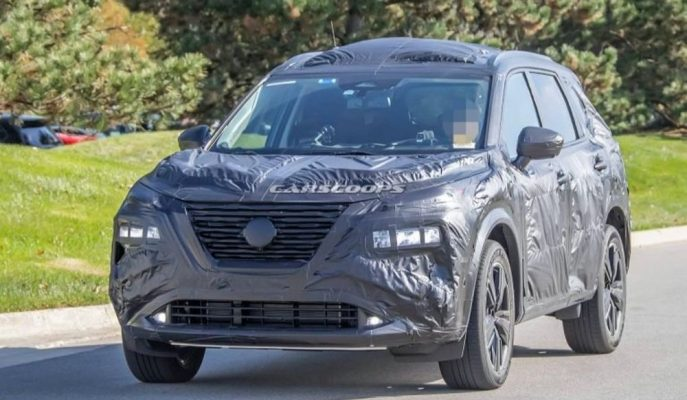 2021 Nissan Rogue (X-Trail) için Testler Başladı!