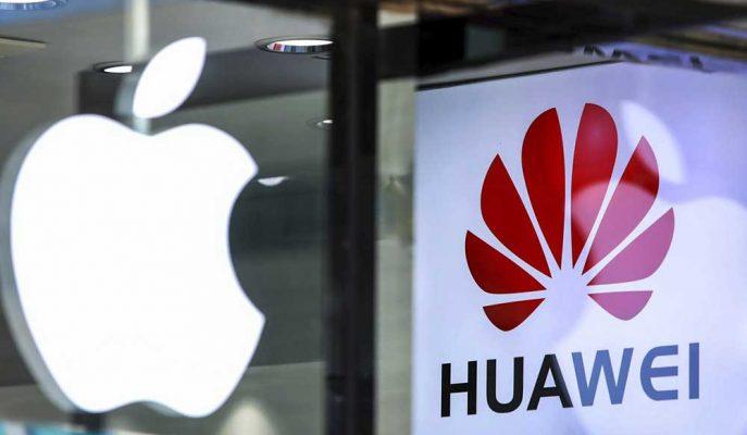 Apple'ın Çinli Rakibi Huawei'yi 2019'un Son Çeyreğinde Geçebileceği İddia Edildi