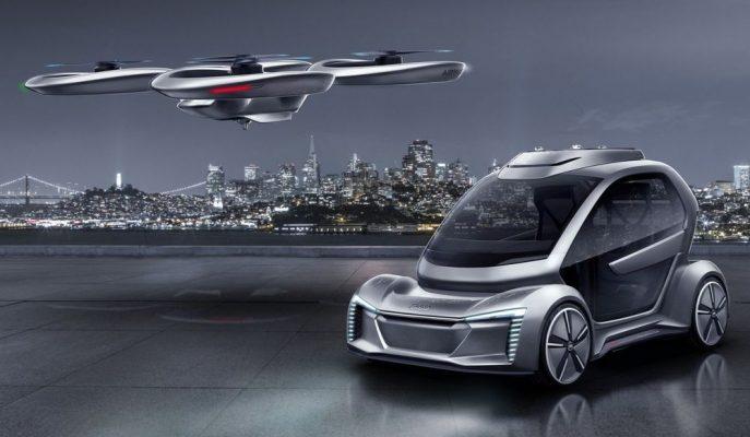 Audi & Airbus Uçan Araba Projesinde Gelişmeler Yaşandı!
