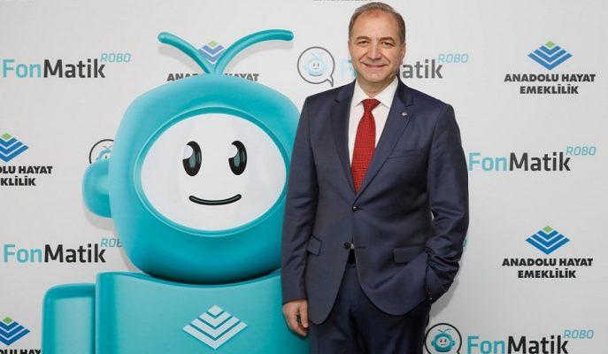 Anadolu Hayat Emeklilik BES Katılımcısı için FonMatik ROBO Hizmetini Duyurdu