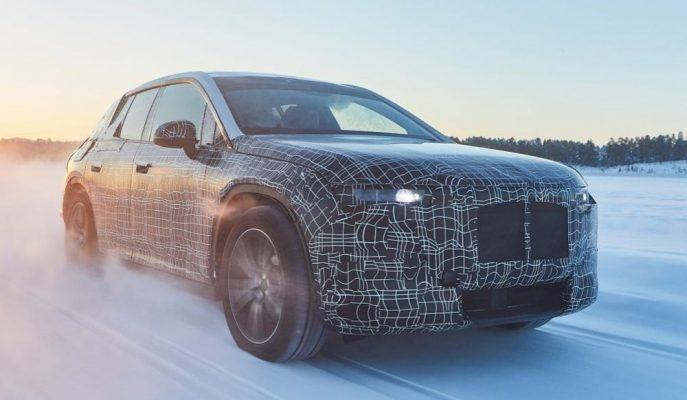 BMW iNext SUV 2021'de 700 Km Menzille Geliyor!