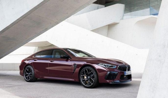 BMW M8 Gran Coupe 626 PS ile Dört Kapılıların Lordu Şeklinde Geldi!