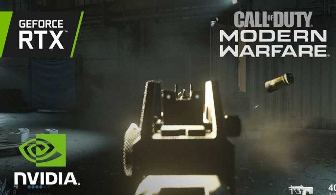 Call of Duty: Modern Warfare, Nvidia'nın RTX Altyapısı ile Muhteşem Bir Deneyim Sunuyor