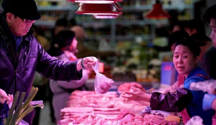 Çin'in Domuz Eti Fiyatları Eylül'de Yüzde 69.3 Artış Gösterdi!