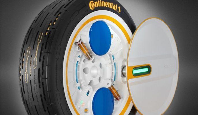 """Continental Lastiklerinde """"Otomatik Şişirme"""" Teknolojisini Geliştiriyor"""