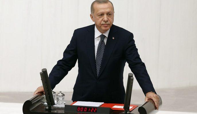 Cumhurbaşkanı Erdoğan TBMM'nin 27. Dönem 3. Yasama Yılı Açılışında Konuştu