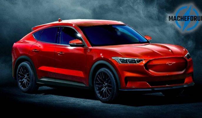 Ford'un Mustang Üzerine İnşa Edileceği EV SUV'u Bunun Gibi Gözükebilir!