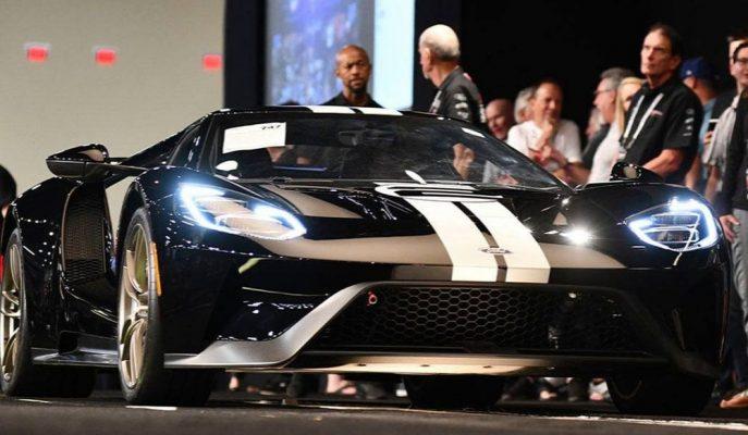 Ford GT 66 Heritage'nin Las Vegas'taki Satış Rakamına İnanamayacaksınız!