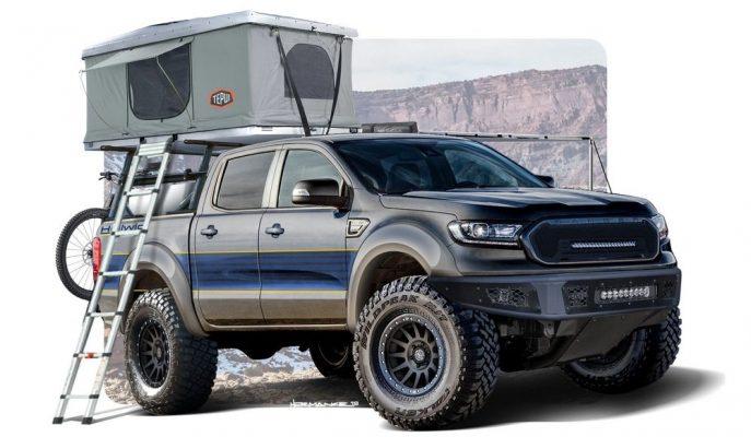 Ford SEMA Show'a Agresif Arazi Odaklı Ranger'lar Hazırlıyor!