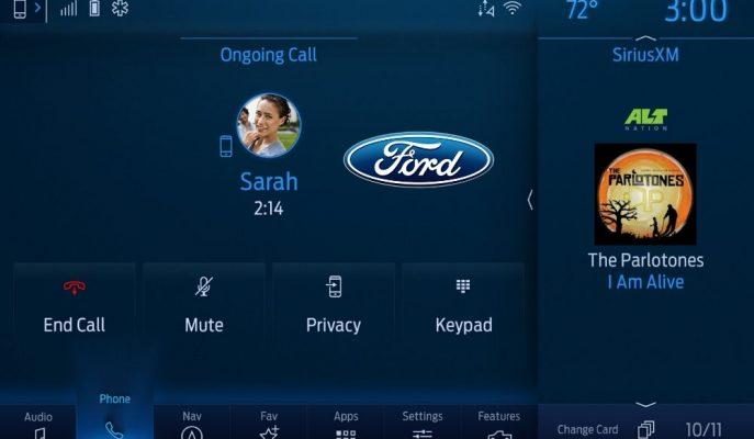 """Ford Gelişmiş Yeni Bağlantı Sistemi """"SYNC 4″e Geçiyor!"""