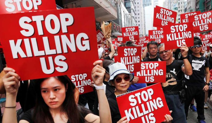 Hong Kong Geri Dönüşü Olmayan Bir Noktaya Ulaştı