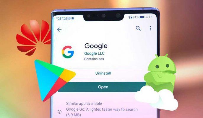 Huawei Mate 30 Modellerinde Google Uygulamalarının Çalıştığı Belirtiliyor