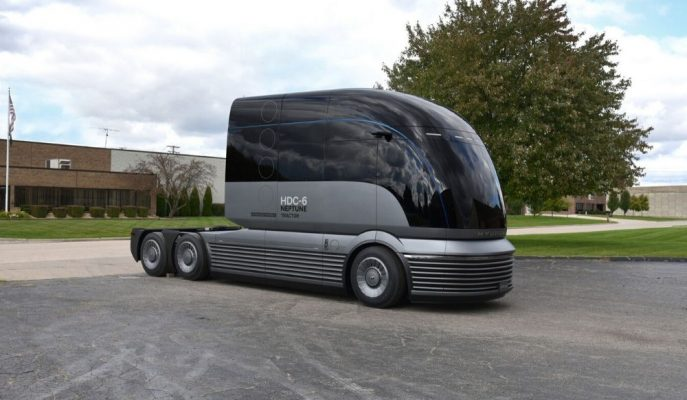 """Geleceğin En Özel Kamyon Tasarımı:""""Hyundai HDC-6″"""
