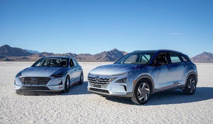 Hyundai, Hibrit Nexo ve Sonata ile Kara Hız Rekorunu Deneyecek!