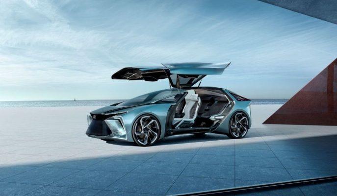 Lexus Tokyo'ya EV Yapılı ve Gelecekten İzler Taşıyan Özelliklerle LF-30 Concept'i Getiriyor