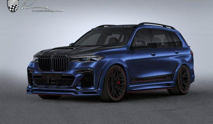 """Asil Bir SUV'un Sokak Savaşçısına Dönüşümü: """"Lumma BMW X7"""""""