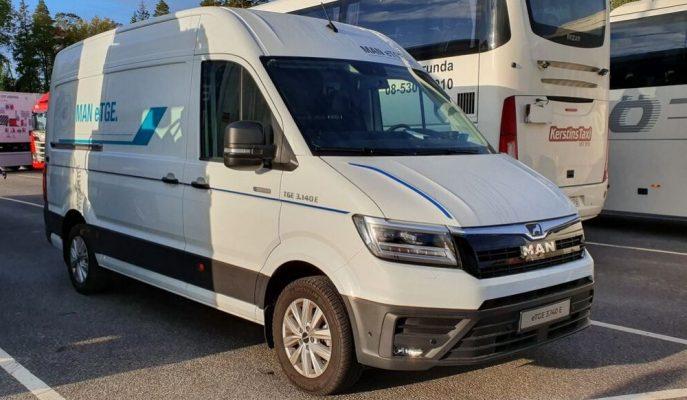VW Crafter'a Dayalı Yeni 9 Yolcu Kapasiteli MAN eTGE Minibüs Gösterildi!