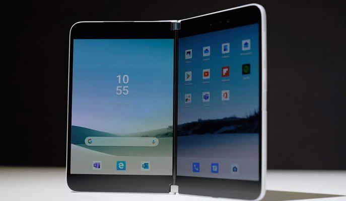 Microsoft Çift Ekranlı Telefonu Surface Duo için En Uygun Seçimin Android Olduğunu Düşünüyor