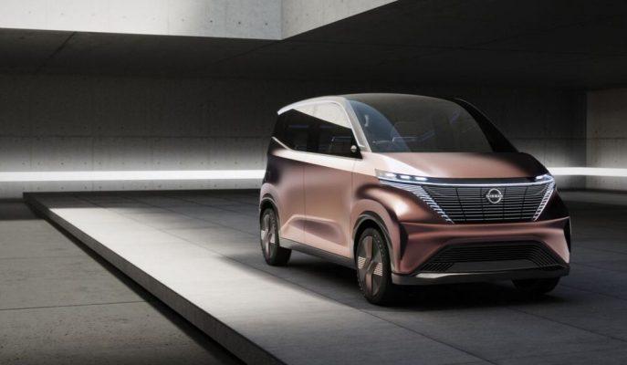 Nissan, IMk Konsept'ini En Son Kentsel Aracı Olarak Tokyo'ya Getiriyor!