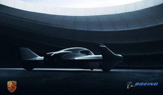 Porsche, Anlaşma Yaptığı Boeing ile Premium Uçan Araba Yapacak!