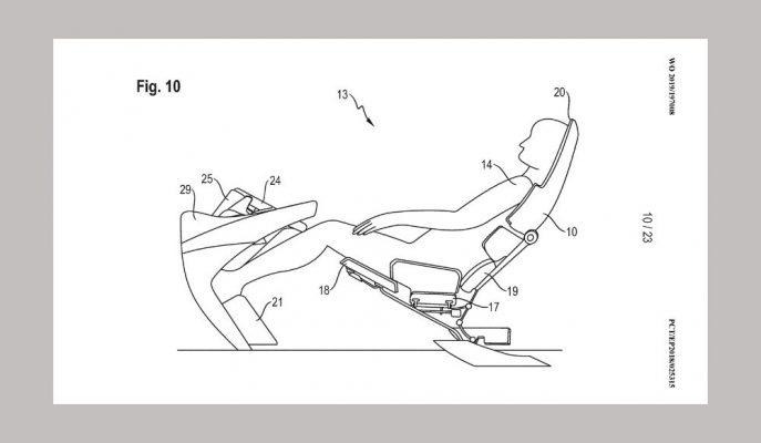Porsche Özerk Otomobiller için Üç Farklı Koltuk Tasarımı Patenti Aldı!