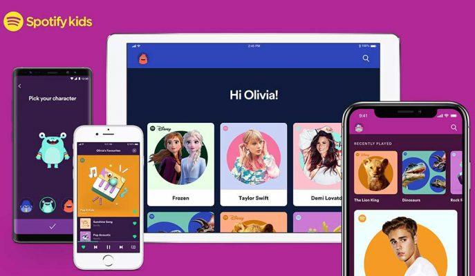 Spotify Küçük Yaş Kullanıcı Kitlesi için Kids Uygulaması Geliştirdi