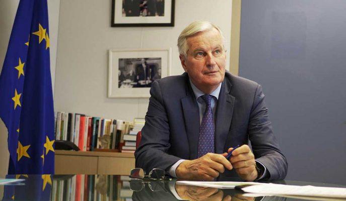 Sterlin, Barnier'in Brexit Anlaşmasının Mümkün Olduğunu Söylemesiyle Hızlı Yükseldi