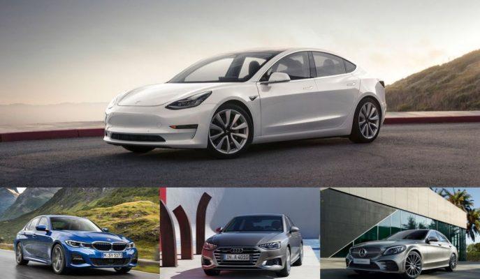Tesla, Mercedes ve BMW'nin Lüks Alandaki Satışlarını Düşürüyor!