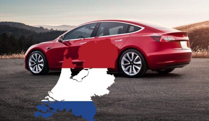 Tesla Hollanda'da Model 3 ile Show Yaptı!