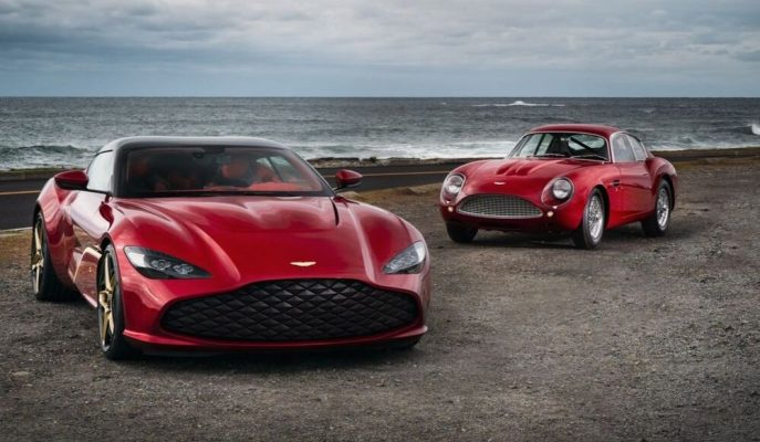 """Aston Martin'in 7.40 Milyon Dolarlık Altın Kaplama """"DBS GT Zagato"""" Çifti Karşınızda!"""