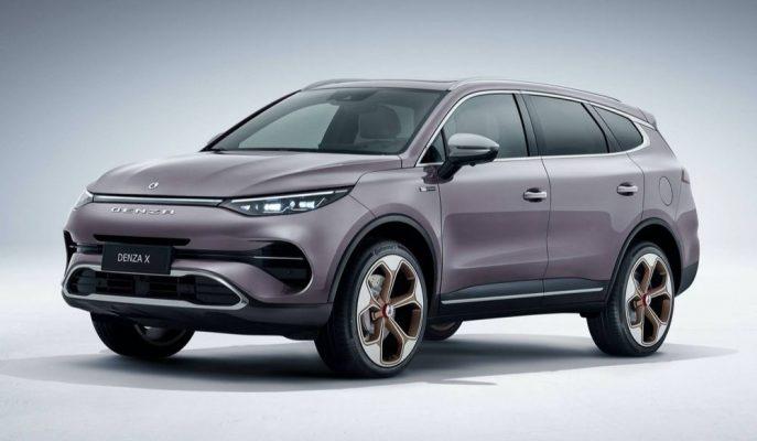 Daimler-BYD Ortaklığından Çıkan Denza X Tanıtıldı!