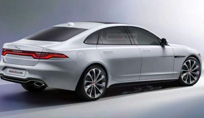 Elektrikli Jaguar XJ'nin Son Nesline Dair Bir Tasarım Geldi!
