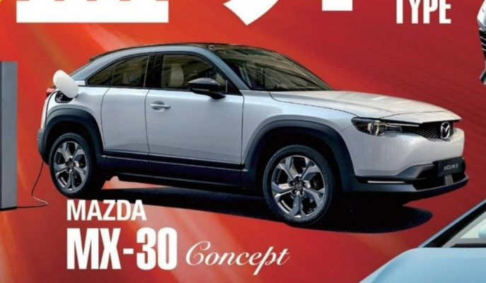 Mazda'nın MX-30 Konsept Görseli Tokyo Fuarı Öncesi Geldi!