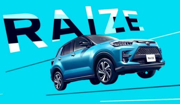 """Toyota, RAV4'ün Küçük Kardeşi """"Raize""""yi Üretime Alıyor!"""