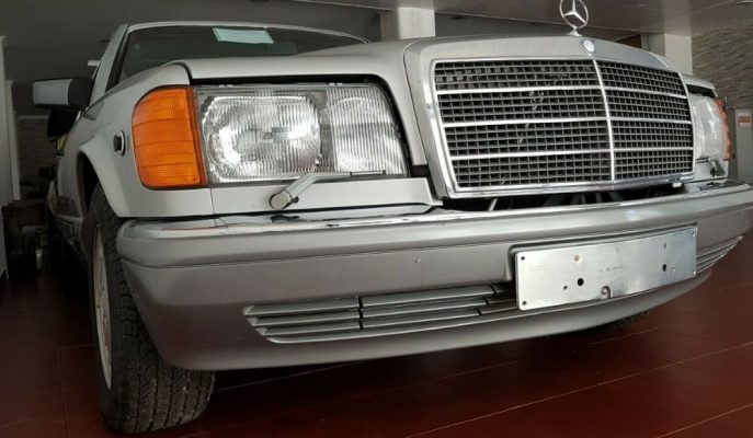 Dünyada Bir İkincisi Olmayan Sıfır 1986 Mercedes 560 SEL Satılıyor!