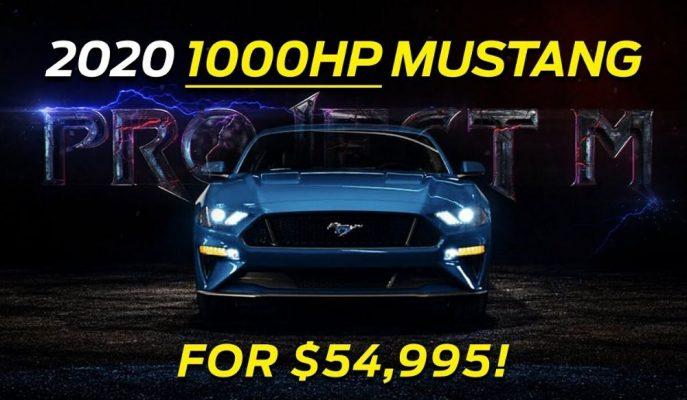Lübnan Ford 2020 Mustang'ı Garantili Şekilde 1.000 Beygir Yapıyor!