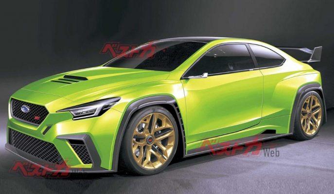 Subaru 2021 için Yeni Nesil WRX'in Müjdesini Verebilir!