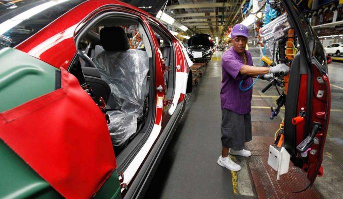 ABD Sanayi Üretimi Ekim'de Yüzde 0,8 ile Beklenenden Fazla Düştü
