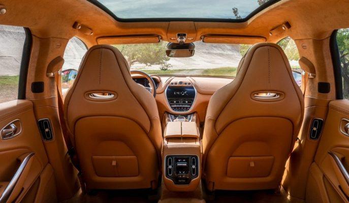 Süper Spor SUV'ların Sonuncusu Aston Martin DBX'in Kokpiti Gösterildi!