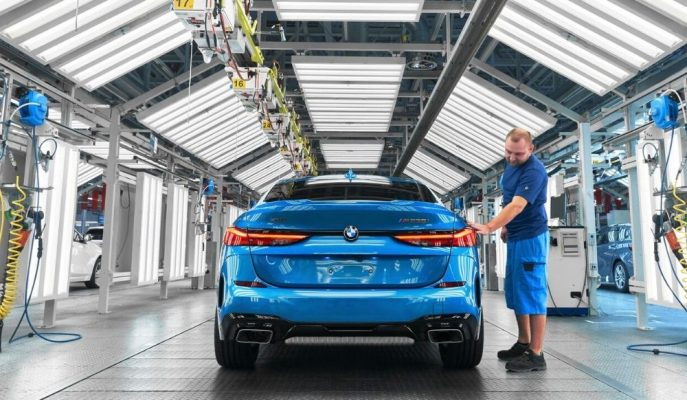 BMW 2 Serisi Gran Coupe'yi İmal Etmeye Başladı!