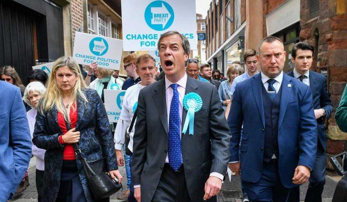 Brexit Partisi'nden Farage, Muhafazakarları Destekleyeceğini Söyledi! Sterlin Yükseldi