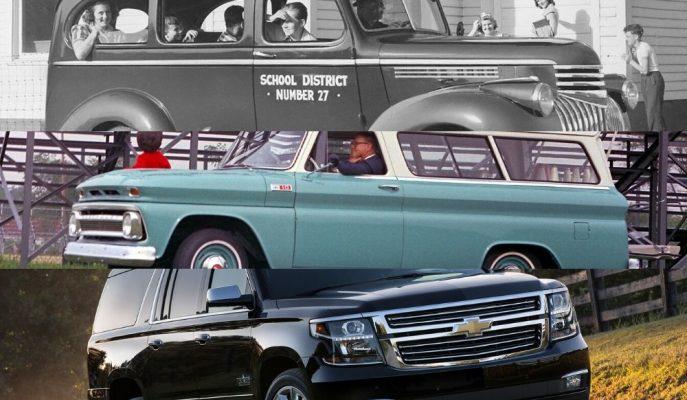 Otomotivin En Uzun Soluklu Üretim Modeli Chevy Suburban 85. Yılını Kutluyor!