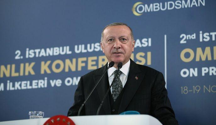 """""""Derdimiz Petrol Değil"""" Diyen Erdoğan, Terörle Mücadeleye Bir Kez Daha Vurgu Yaptı"""