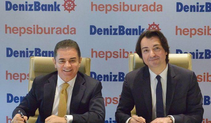 Denizbank ile Hepsiburada Müşterilerine Online Alışveriş Kredisi Çözümü Sunuyor