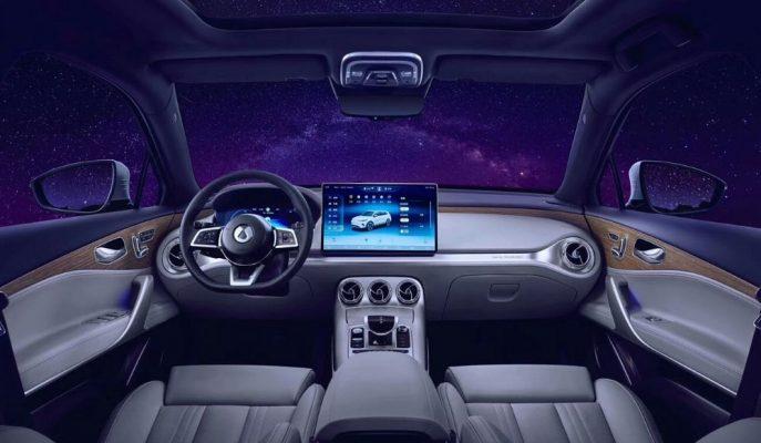 Daimler-BYD Ortaklığındaki Denza X'in Kabin Düzeni Birebir Mercedes!