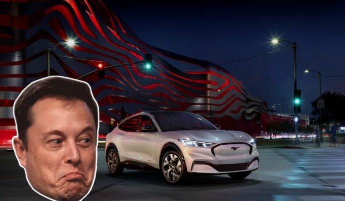 Ford Mustang Mach-E için Elon Musk'tan Eleştiri Gecikmedi!