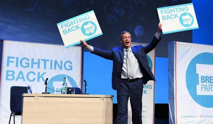 Sterlin, Brexit Partisi'nin Seçim Mücadelesini Azaltmasıyla Yükseldi