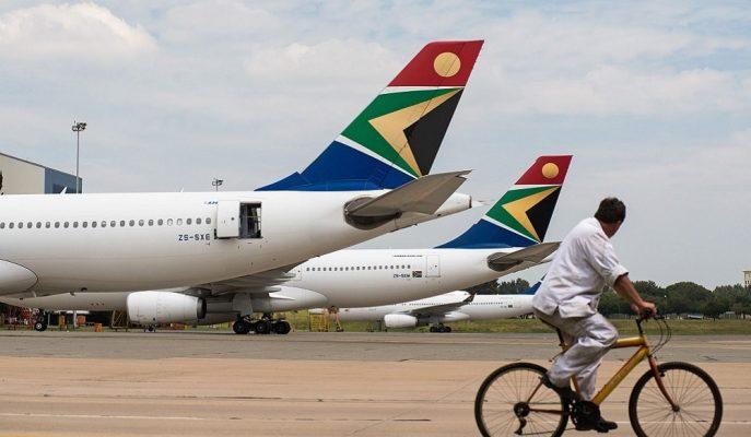 Uzun Zamandır Sıkıntı Yaşayan Güney Afrika Havayolları, Maaşları Ödemeyecek Duruma Geldi
