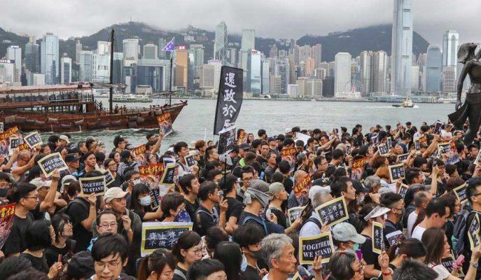 Hong Kong Hisseleri Sivil Huzursuzluk Nedeniyle Bölgesel Kayıplara Yol Açıyor